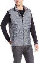 Nautica Men's Herringbone Packable Vest