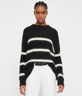 AllSaints Siddons Cashmere Blend Sweater