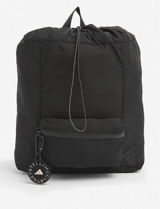adidas by Stella McCartney Logo-embellished recycled polyester rucksack