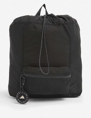 adidas by Stella McCartney Logo-embellished recycled polyester rucksack