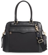 Rebecca Minkoff 'Knocked Up' Leather Diaper Bag - Black