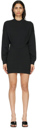 alexanderwang.t Black Sculpted Long Sleeve Dress