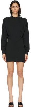 alexanderwang.t Black Sculpted Long Sleeve Dress