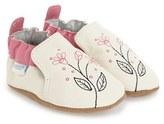 Robeez 'Pink Sugar' Crib Shoe (Baby & Walker)