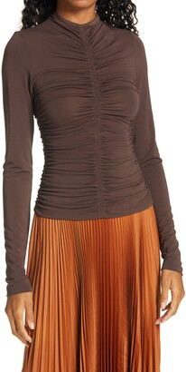A.L.C. Ansel Ruched Top