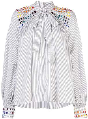 Rosie Assoulin bead embellished blouse