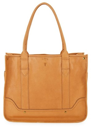 Frye Madison Leather Shopper Tote