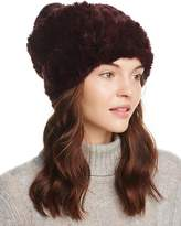 Surell Rabbit Fur Slouch Hat