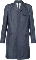 Thom Browne three pocket coat - men - Cotton - 3