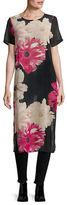 Calvin Klein Sheer Floral Tunic