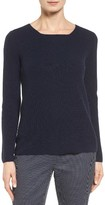 Nordstrom Women's Button Back Cashmere Pullover