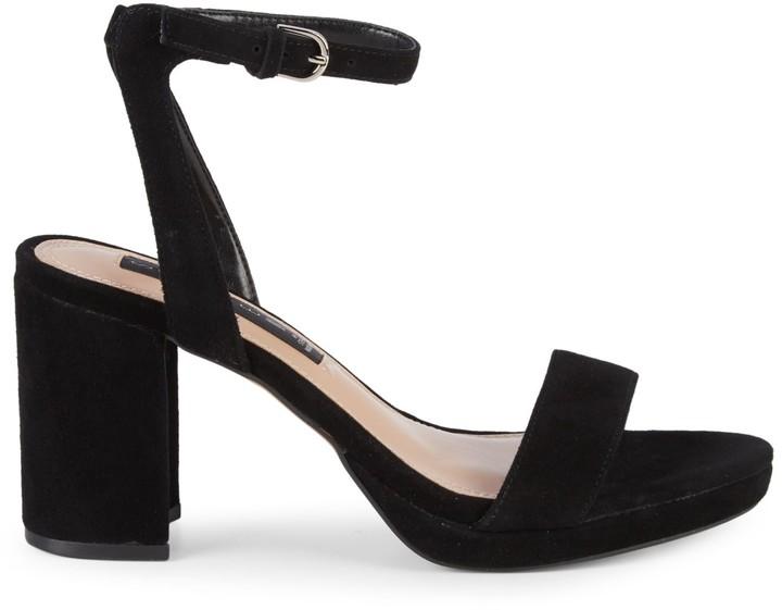 c0b5091b142 Vice Suede Block Heel Sandals