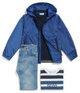 HUGO BOSS Kids' slim-fit jeans in stretch denim