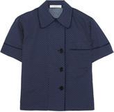 Araks Shelby polka-dot cotton-poplin pajama top