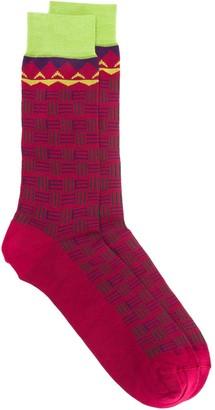 Etro Intarsia Socks