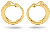 Charlotte Chesnais Monie large gold-plated clip-on earrings