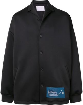 Kolor Oversized Bomber Jacket