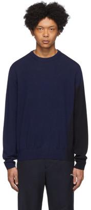 Oamc Navy Gradient Sweater