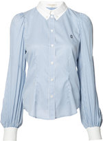 Marc Jacobs striped tailored shirt - women - Cotton - 6