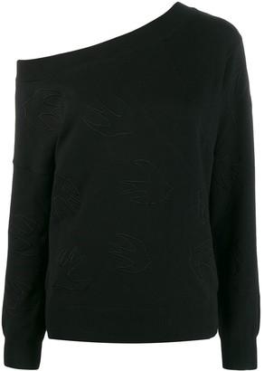 McQ swallow logo sweater