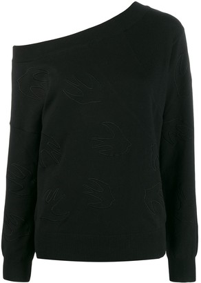 Mcq Swallow Swallow Logo Sweater