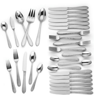 Lenox Haveson 65-Pc. 18/10 Stainless Steel Flatware Set, Service for 12, Created for Macy's