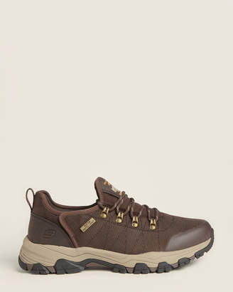 Skechers Chocolate Relaxed Fit Selmen Norden Hiking Sneakers