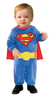 Rubie's Costume Co Superman Plush Dress-Up Outfit - Infant & Toddler