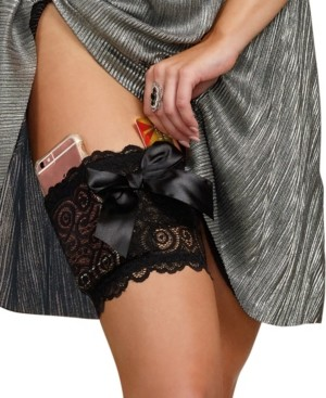 Dreamgirl Discreet Lace Garter Wallet