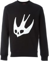 McQ by Alexander McQueen Swallow' sweatshirt - men - Cotton/Polyester - XL