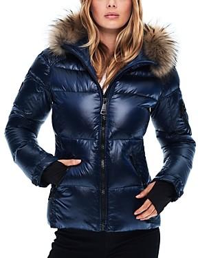 SAM. Blake Fur Trim Down Coat