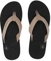 Volcom Driftin Leather Sandal (Khaki) Men's Shoes