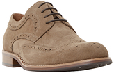 Dune Radcliffe Derby Lace-up Brogue Shoes, Sand
