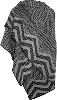 Missoni Metallic Wool Poncho - Gray