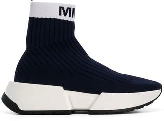 MM6 MAISON MARGIELA Logo Knitted Sneakers