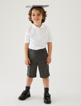 Marks and Spencer 2pk Boys' Adaptive School Shorts