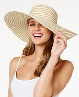 Nine West Stripe Super Floppy Hat