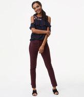 LOFT Skinny Zip Pocket Bi-Stretch Pants in Julie Fit