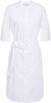 By Malene Birger Belted Cotton-poplin Dress