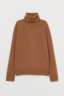 H&M Fine-knit Cashmere Sweater - Beige