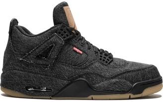 Jordan x Levi's Air 4 Retro NRG black Levis