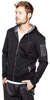 GUESS Men's Zeno Quilted Hoodie