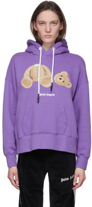 Palm Angels Purple Kill The Bear Hoodie