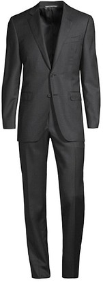 Canali Wool Tailored Slim Suit