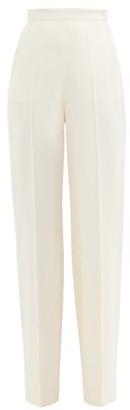 Giambattista Valli High-rise Wide-leg Trousers - Ivory