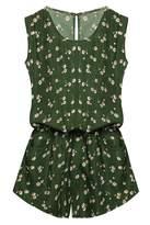 ACEVOG Women's strapless Sleeveless Scoop Neck Casual for women M