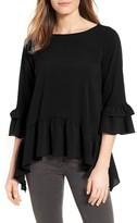 Gibson Women's Peplum Top