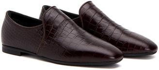 Aquatalia Revy Weatherproof Leather Loafer