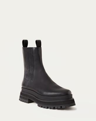 Loeffler Randall Toni Black Platform Boot