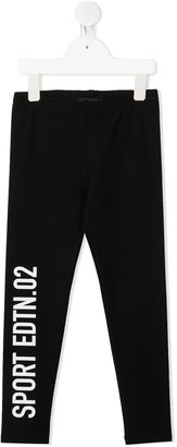 DSQUARED2 TEEN Sport Edition track pants